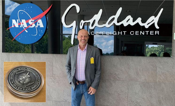 NASAによる表彰