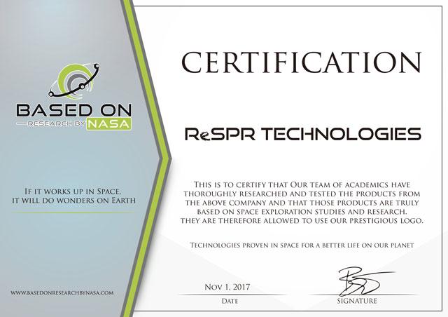 NASA CERTIFICATION NCC TECHNOLOGY